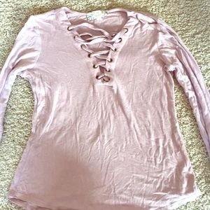 Pastel Pink Long Sleeve